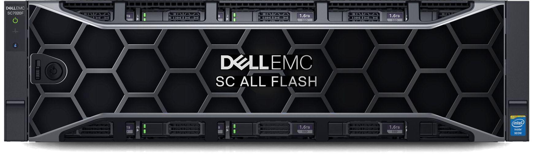 Dell EMC SC7020F Front