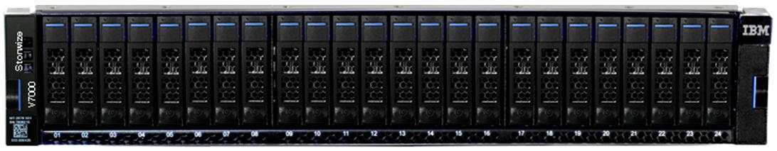IBM Storwize V7000 Gen3 Front