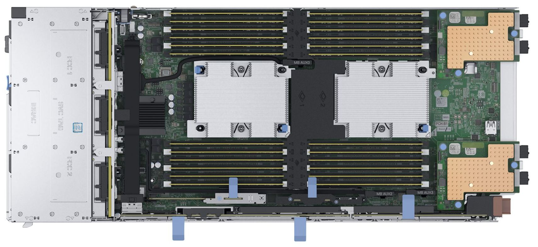 PowerEdge MX740c Compute Sled