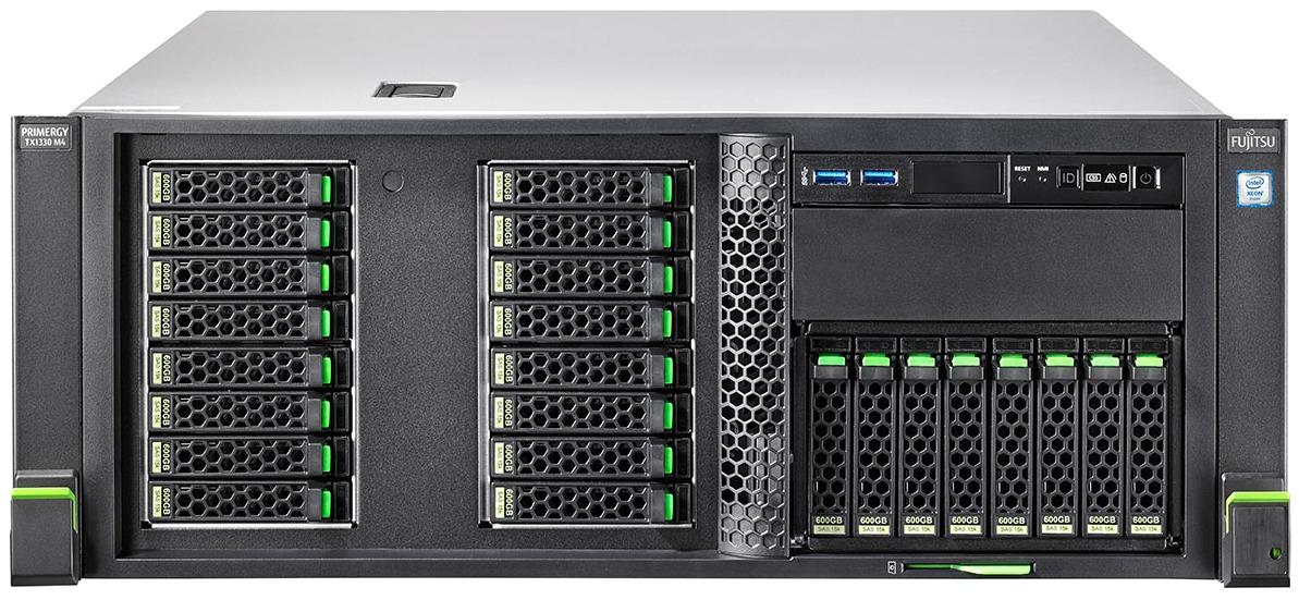 FUJITSU-PRIMERGY-Server-TX1330-M4-Front