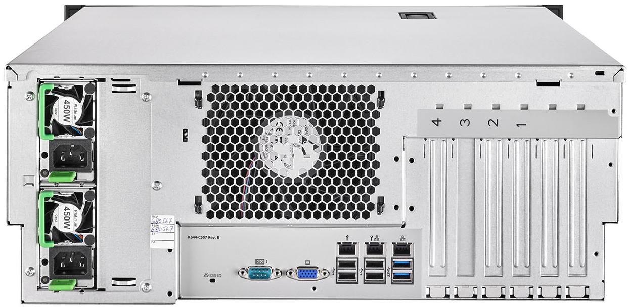 FUJITSU-PRIMERGY-Server-TX1330-M4-Rack-Rear