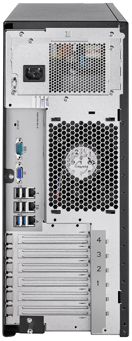 FUJITSU-PRIMERGY-Server-TX1330-M4-Tower-Rear