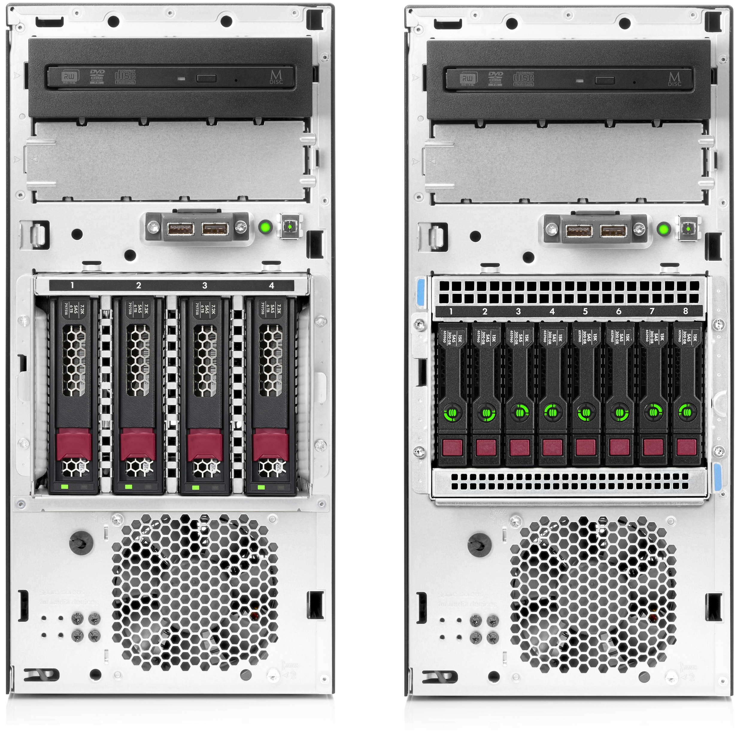 HPE ProLiant ML30 Gen10 LFF SFF