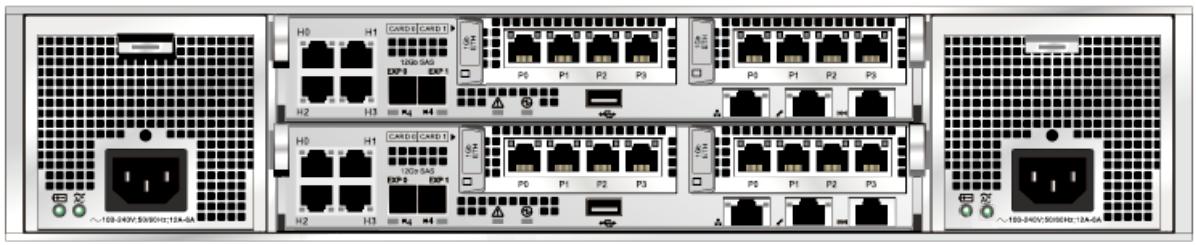 Huawei OceanStor 2800 V5 Storage System Rear