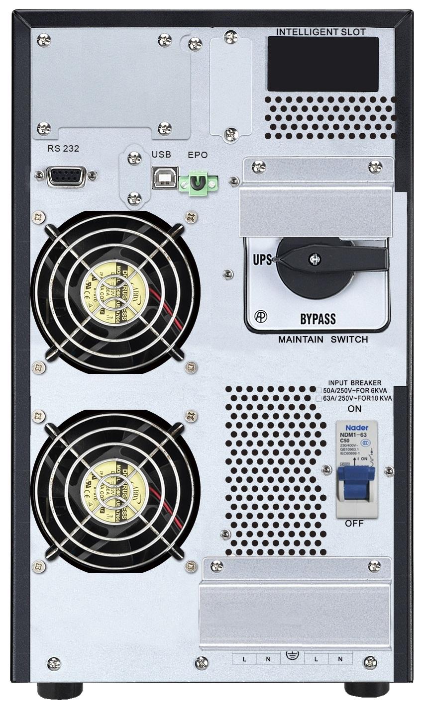 APC by Schneider Electric Easy UPS On-Line SRV10KIL Rear