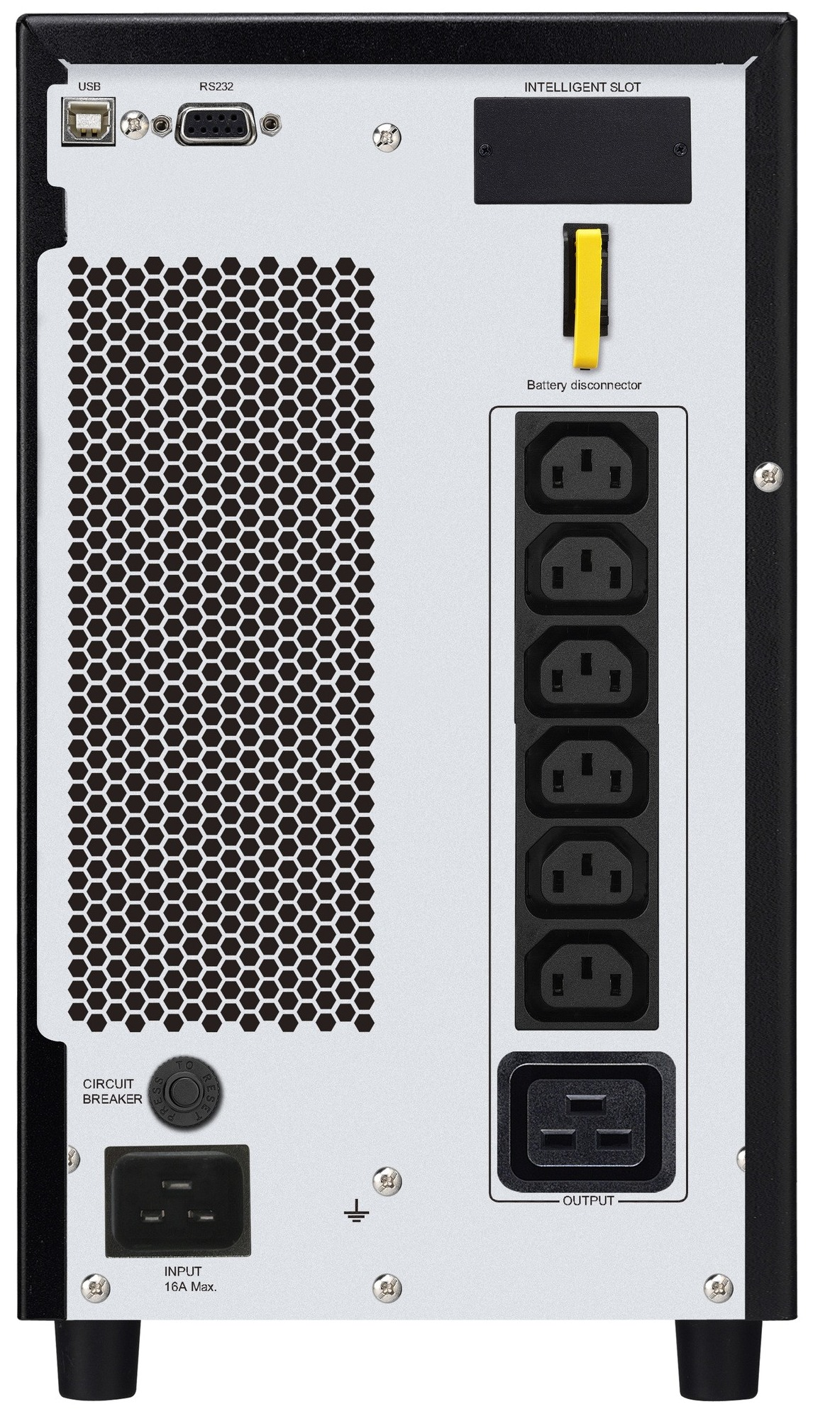 APC by Schneider Electric Easy UPS On-Line SRV3KI Rear