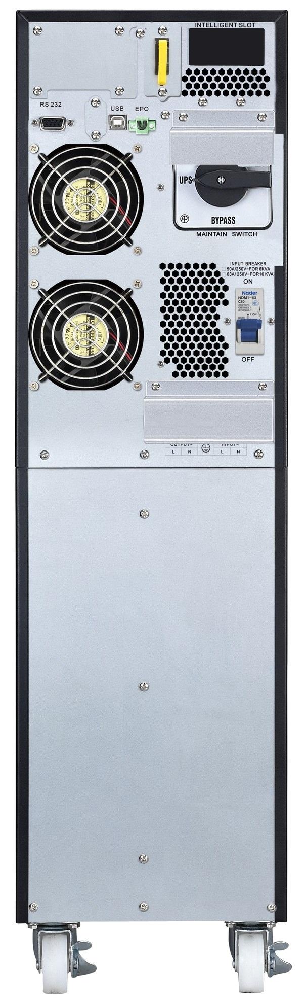 APC by Schneider Electric Easy UPS On-Line SRV10KI Rear