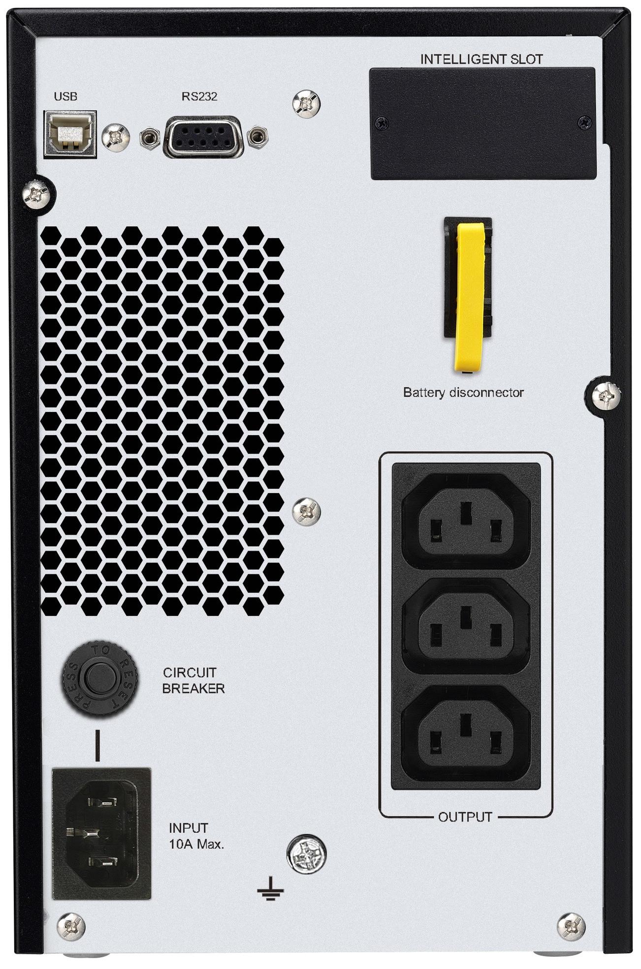 APC by Schneider Electric Easy UPS SRV1KI Rear