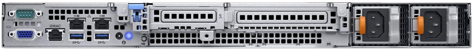 Dell EMC PowerEdge R340 Rear