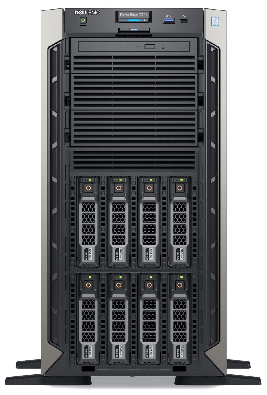 Dell-EMC-PowerEdge-T340-8LFF