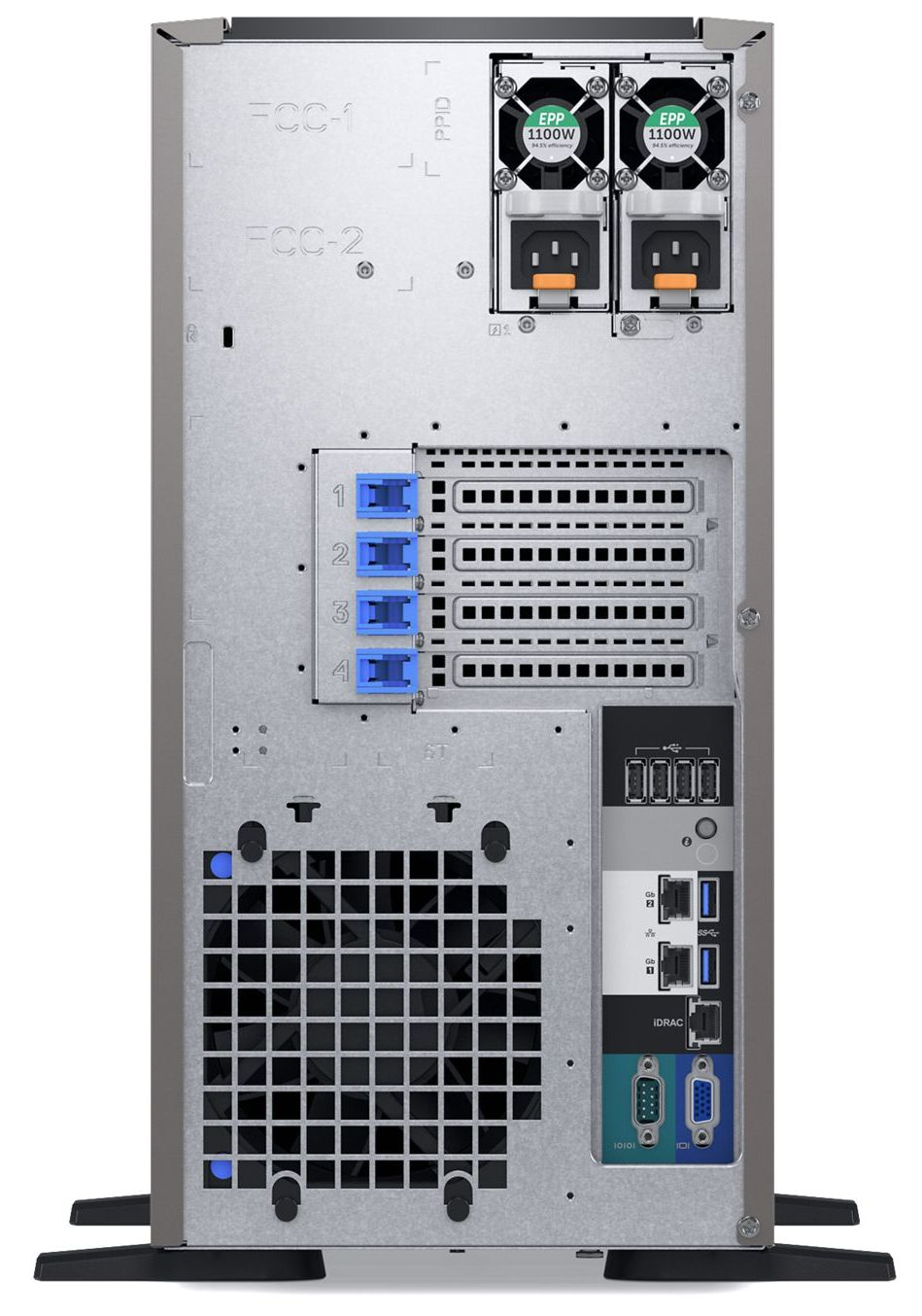 Dell EMC PowerEdge T340 Rear