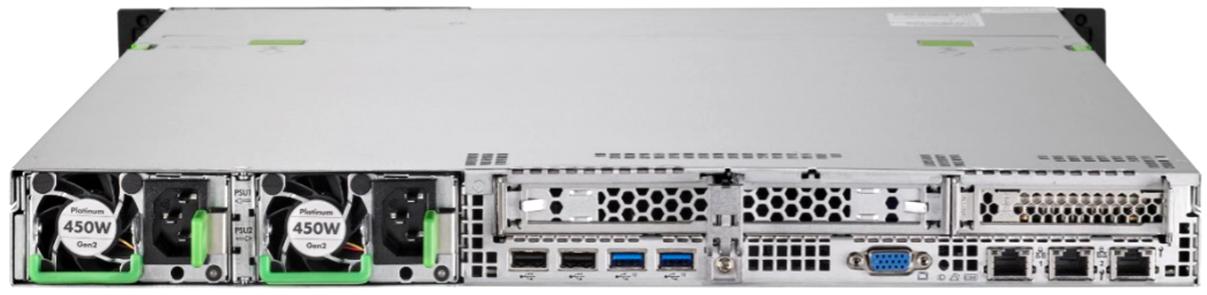 FUJITSU-PRIMERGY-Server-RX1330-M4-Rear