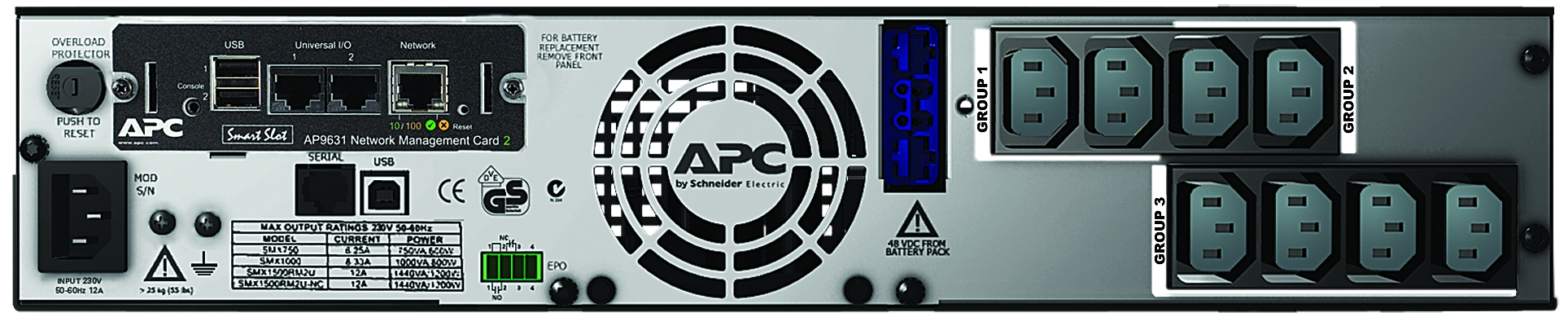 APC-by-Schneider-Electric-SMX1500RMI2UNC-Rear