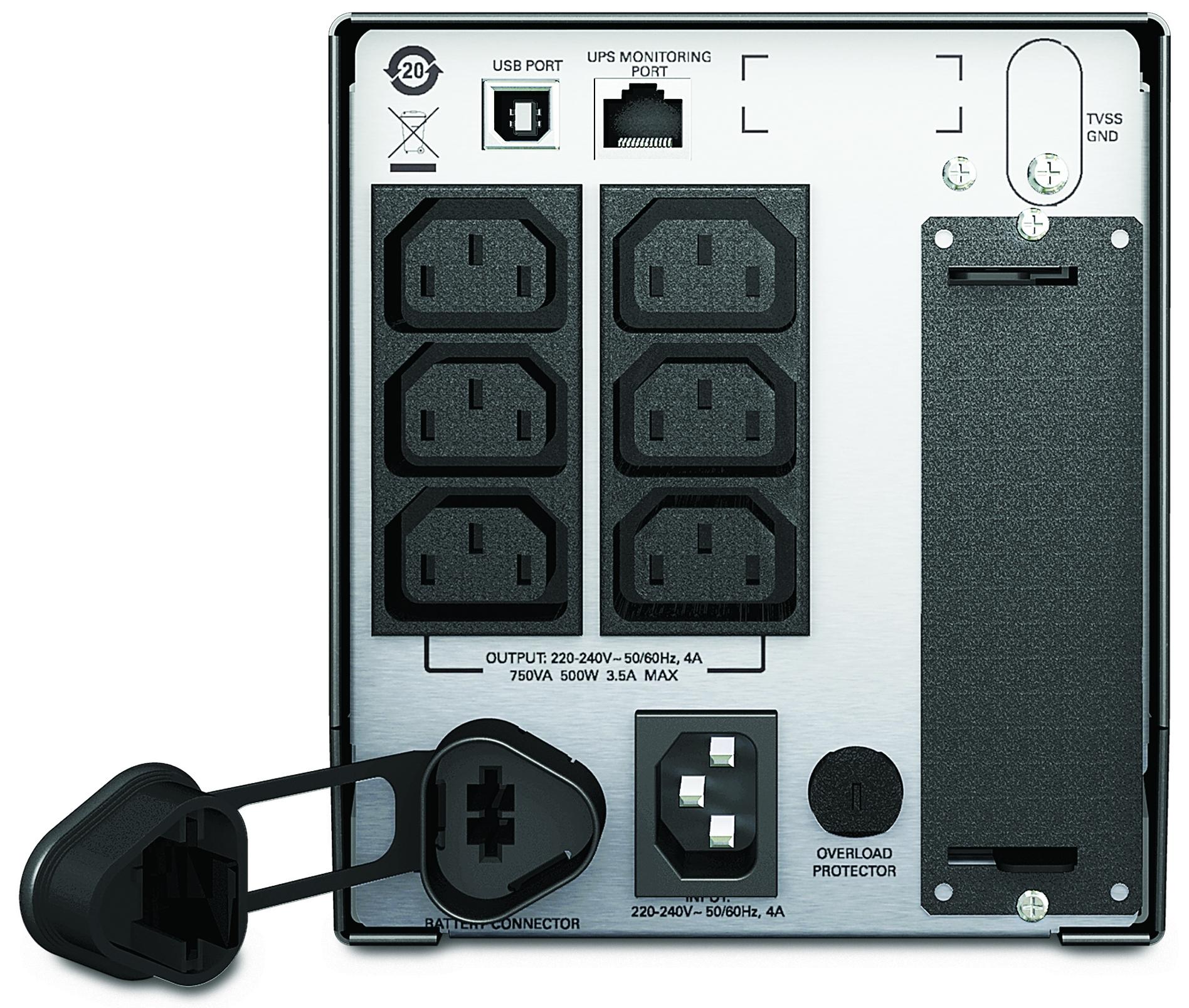 APC-by-Schneider-Electric-Smart-UPS-SMT750I-Rear