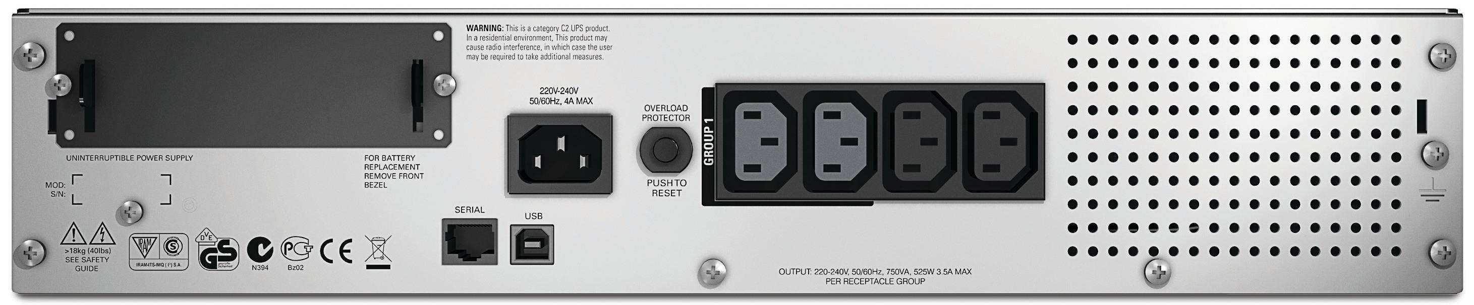 APC-by-Schneider-Electric-Smart-UPS-SMT750RMI2U-Rear