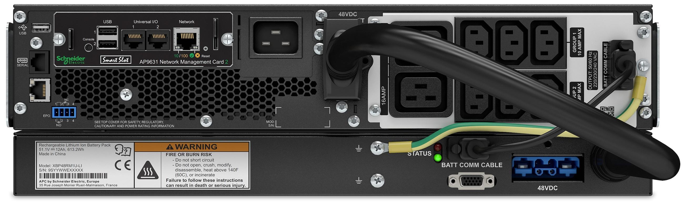 APC-by-Schneider-Electric-Smart-UPS-SRTL3000RMXLI-NC-Rear