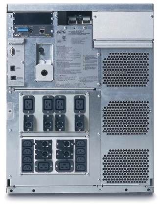 APC by Schneider Electric Symmetra LX SYA4K8RM Rear