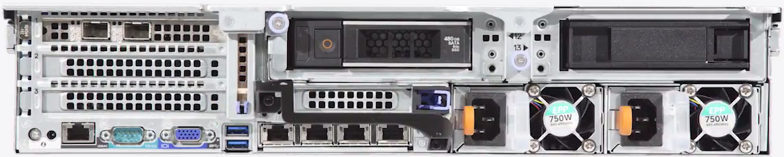 Dell-EMC-Data-Domain-3300-Rear-View