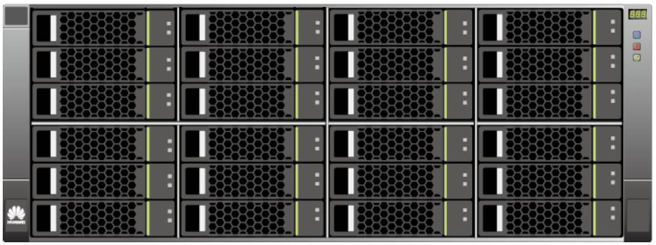 Huawei OceanStor 4U SAS disk enclosures LFF Front