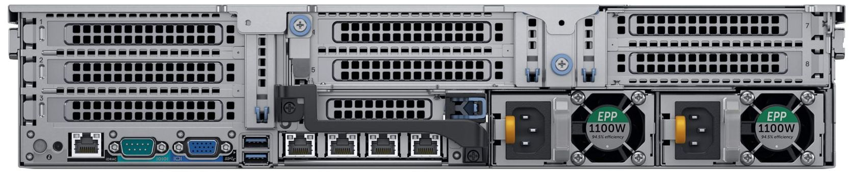 Dell EMC VxRail V-Series Rear