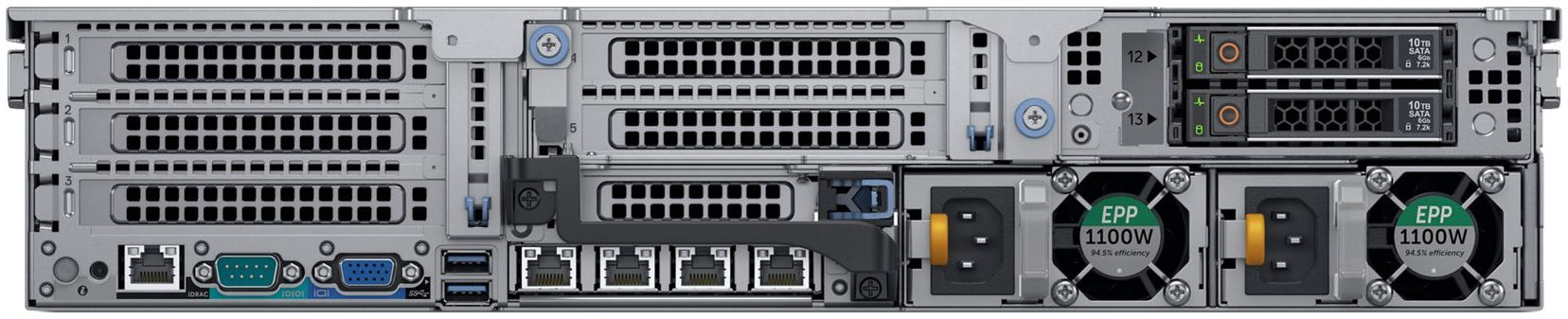 Dell EMC VxRail S-Series Rear